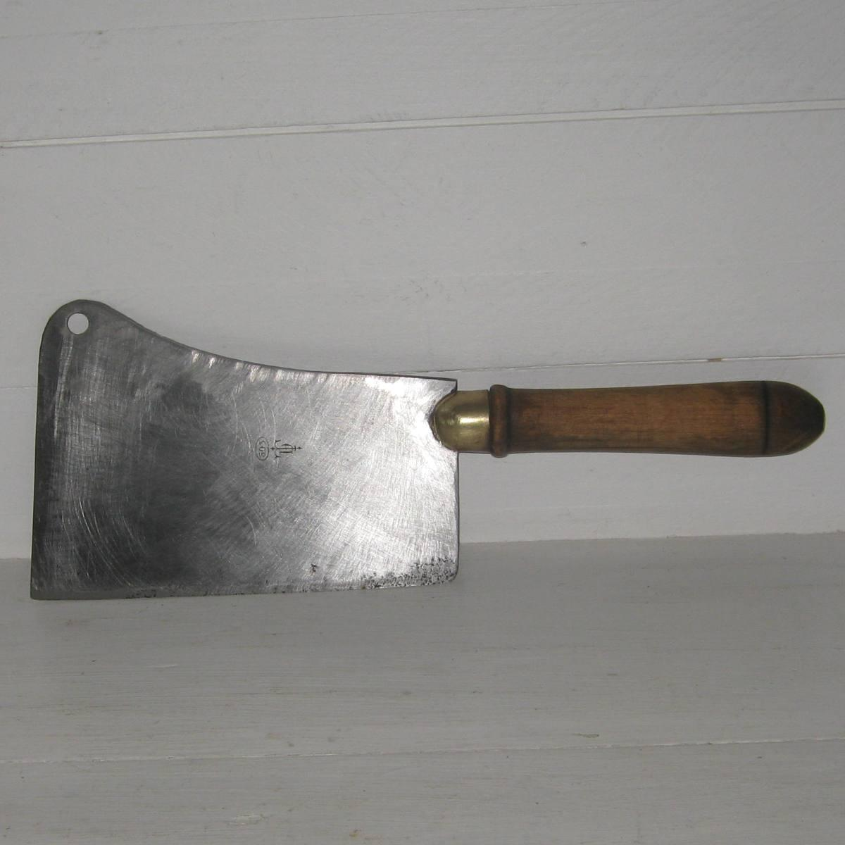 Ancien couperet de cuisine 1