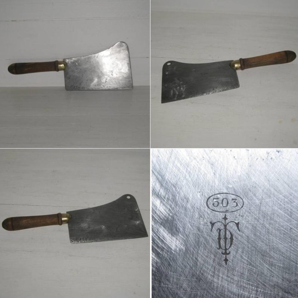 Ancien couperet de cuisine 2