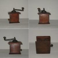Ancien moulin a poivre en bois de marque peugeot freres valentigney doubs modele depose 2