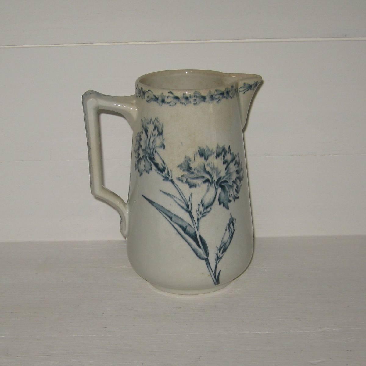 Ancien pot a lait oeillet luneville 1