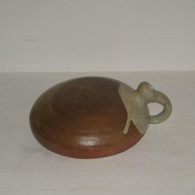 Ancienne bouillotte en grès de Puisaye ou autre