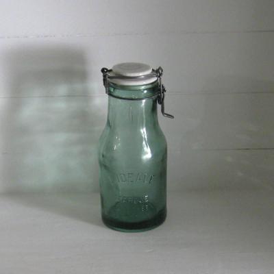 Bocal ancien bouteille à conserves l'idéale 1L