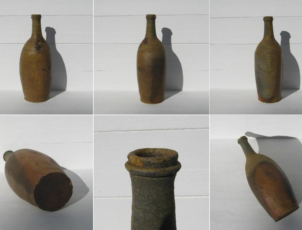 Ancienne bouteille en gres de puisaye 2