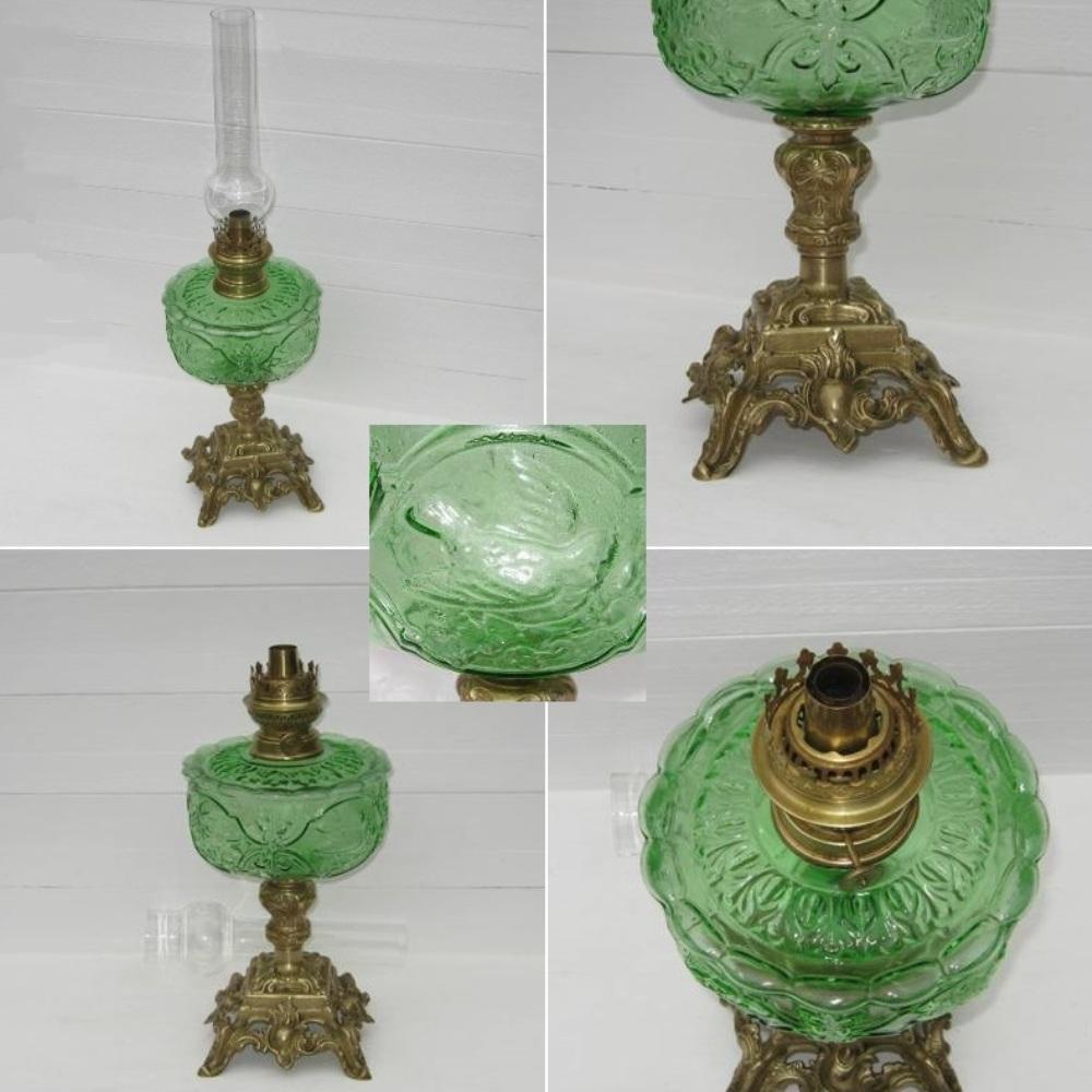 Ancienne grande lampe a petrole 2