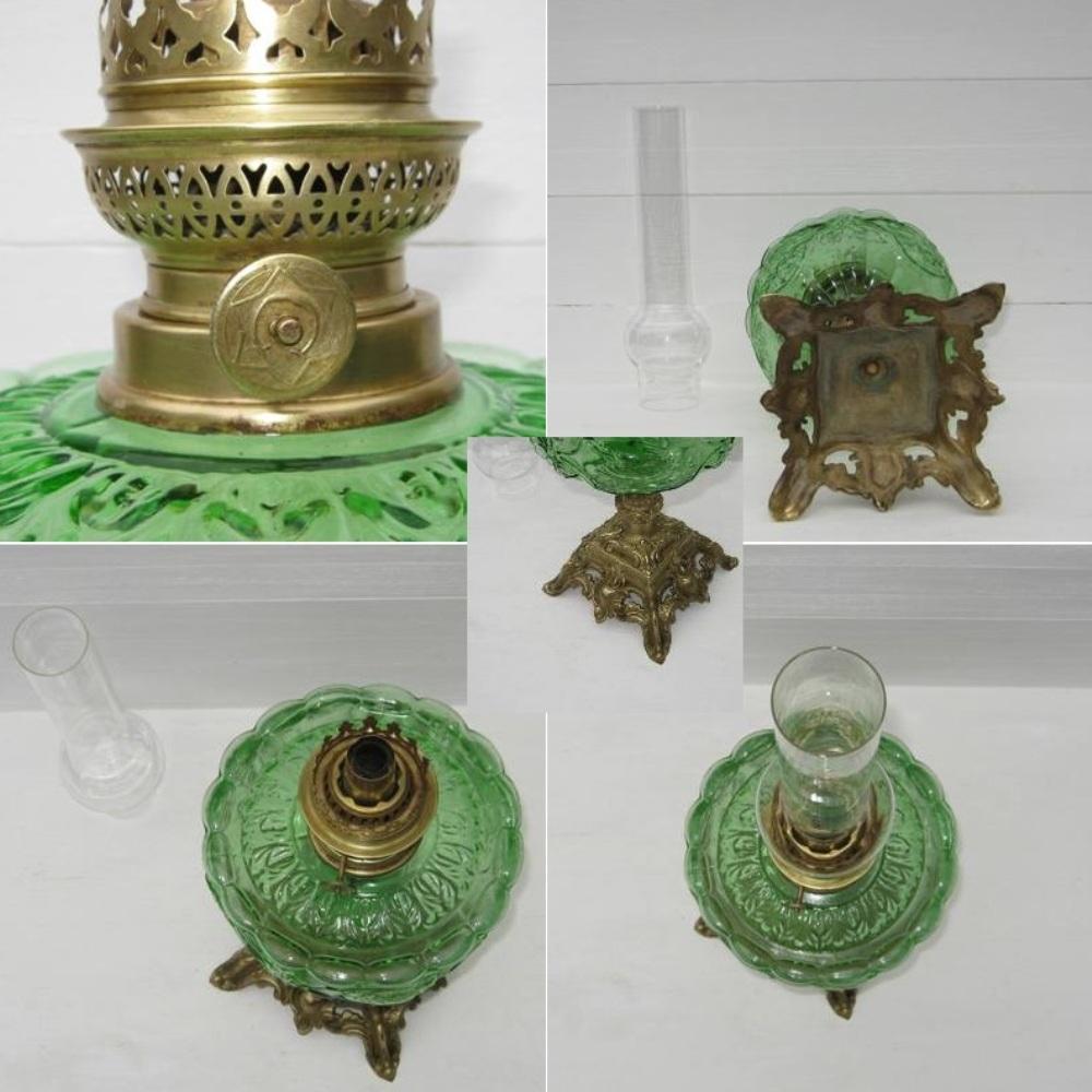 Ancienne grande lampe a petrole 3