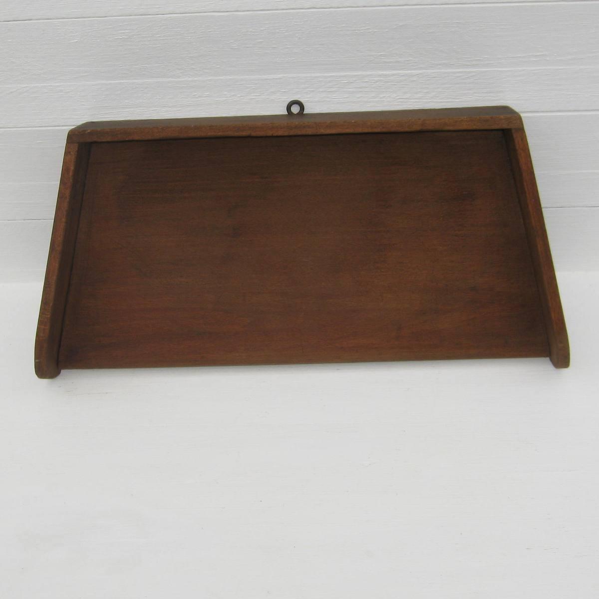 Ancienne planche a hacher en bois 1