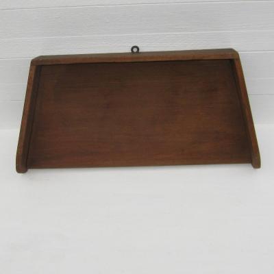 Planche à hacher ancienne en bois, planche à découper ancienne en bois