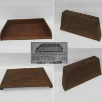 Ancienne planche a hacher en bois 2