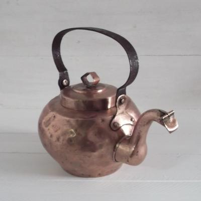 Grande bouilloire en cuivre XVIIIème