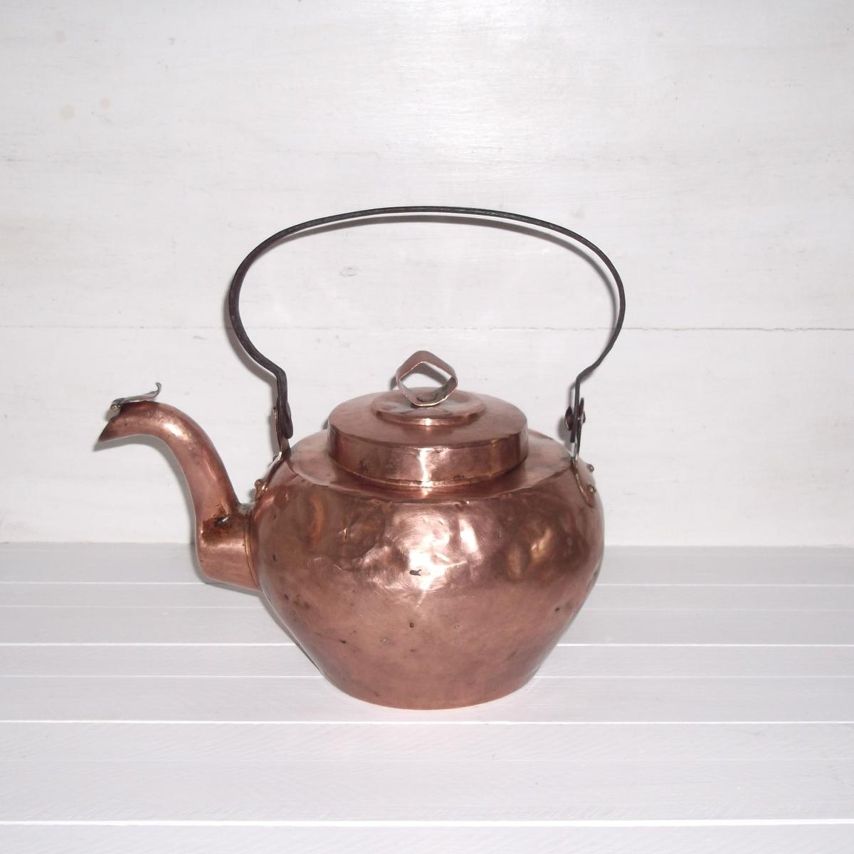 Bouilloire en cuivre 2