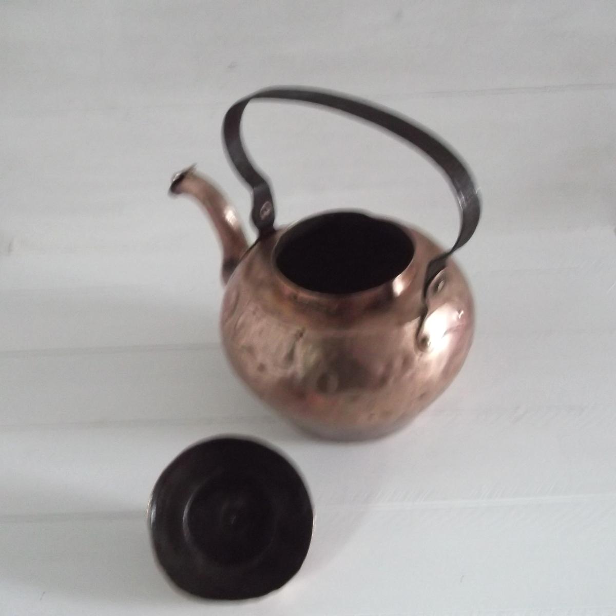 Bouilloire en cuivre 5