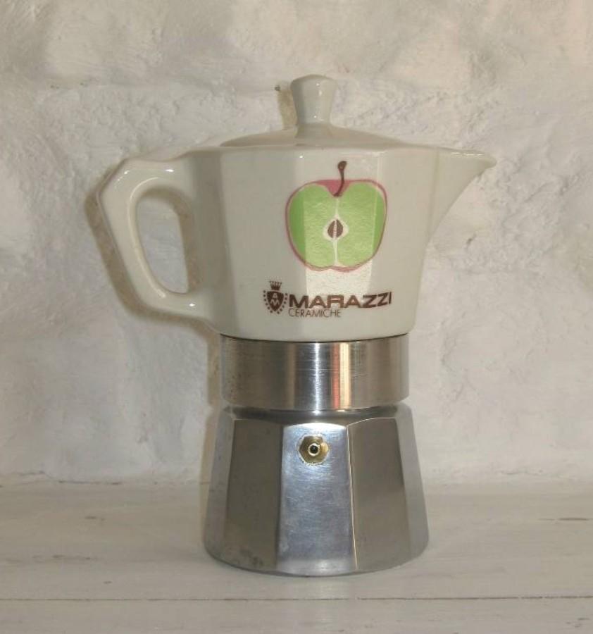 Cafetiere individuelle vintage marazzi ceramiche 10