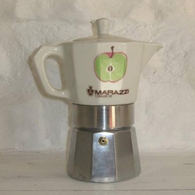 Cafetière individuelle vintage Marazzi ceramiche