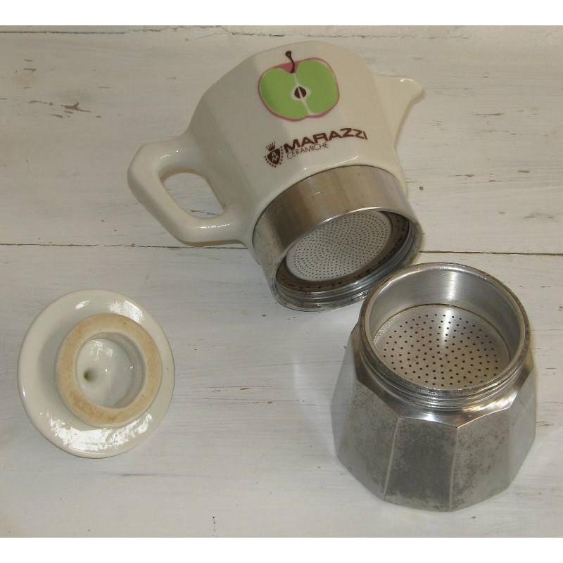 Cafetiere individuelle vintage marazzi ceramiche 8