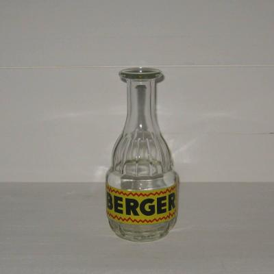 Ancienne carafe publicitaire BERGER