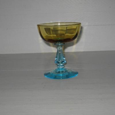 Ancienne coupe à champagne modèle George Sand cristalleries de Portieux