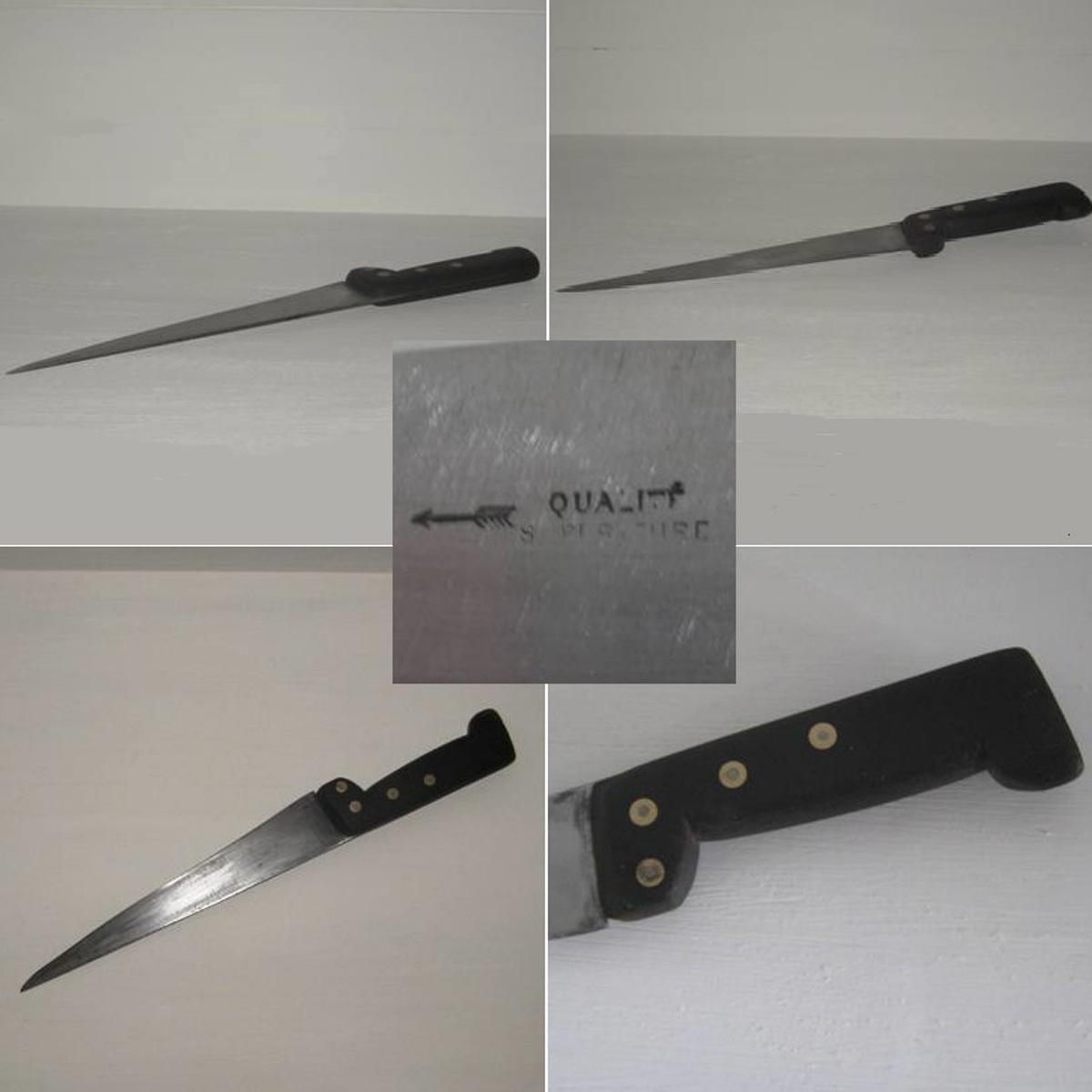 Couteau manche noir 2