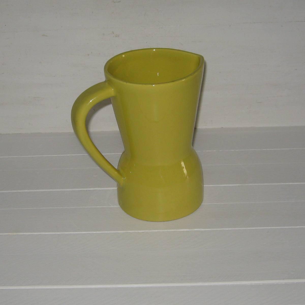 Cruche jaune pichet saint clement 1