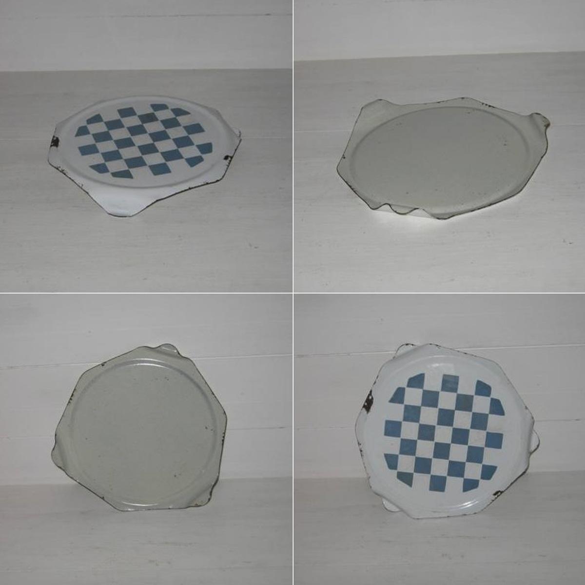 Dessous de plat lustucru bleu blanc 2