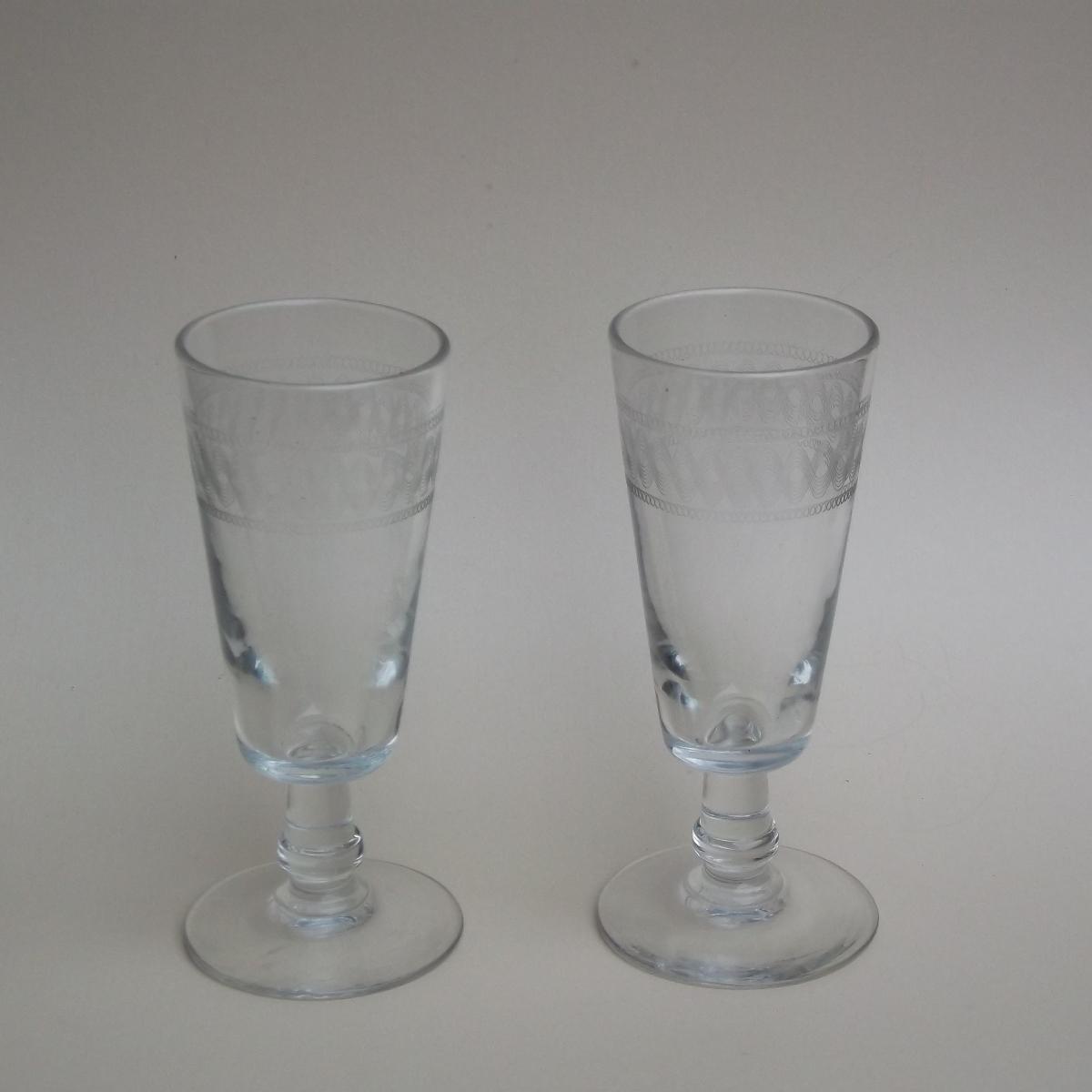 Deux verres a absinthe 1