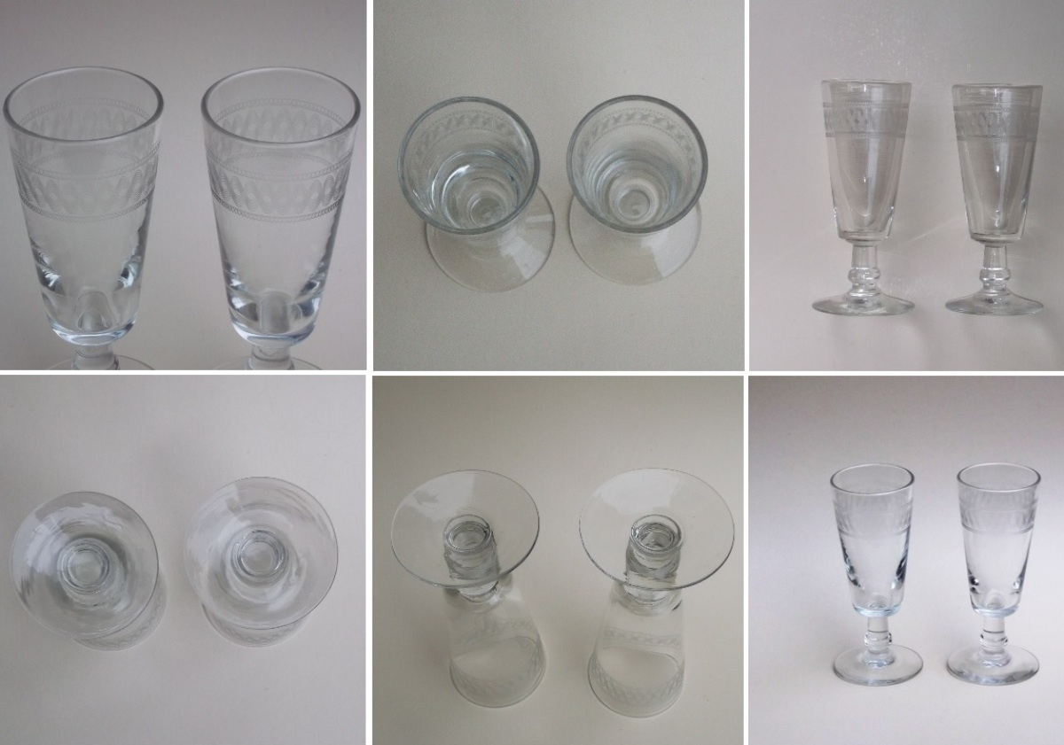Deux verres a absinthe 2
