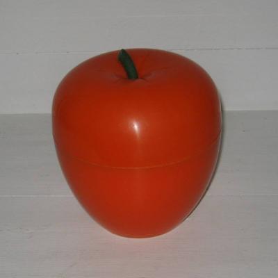 Pomme orange seau à glaçons vintage années 70