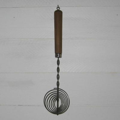 Fouet de cuisine ancien, ancien batteur à spirales