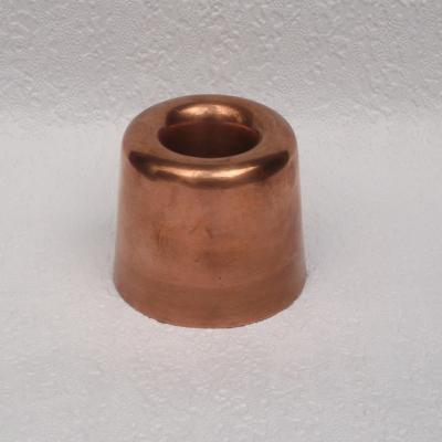 Ancien moule à biscuits en cuivre avec cylindre intérieur (4)