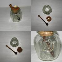 Moutardier verre blanc biot 2