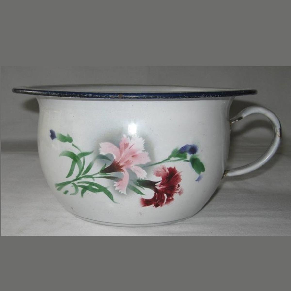 Pot de chambre fleurs 1