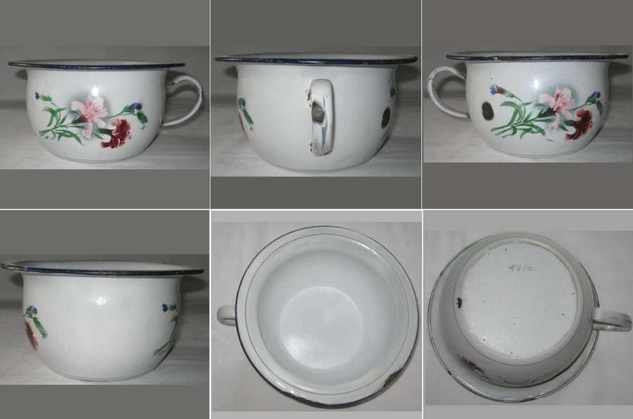 Pot de chambre fleurs 2