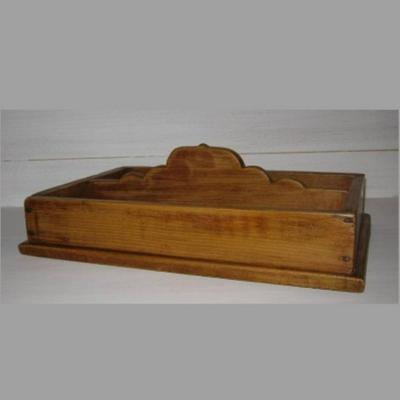 Ancien range-couverts en bois