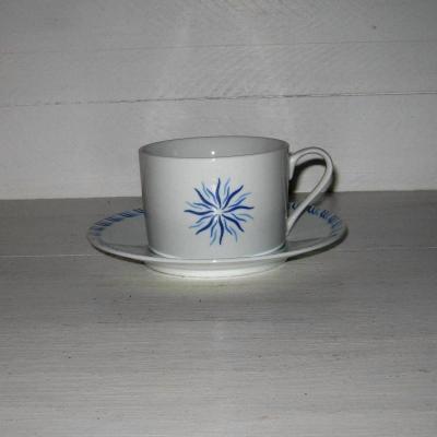 Grande tasse à chocolat  ou à thé porcelaine Pierre Balmain vintage