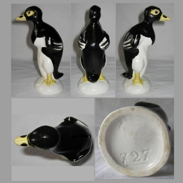 Trirelire pingouin noir 2