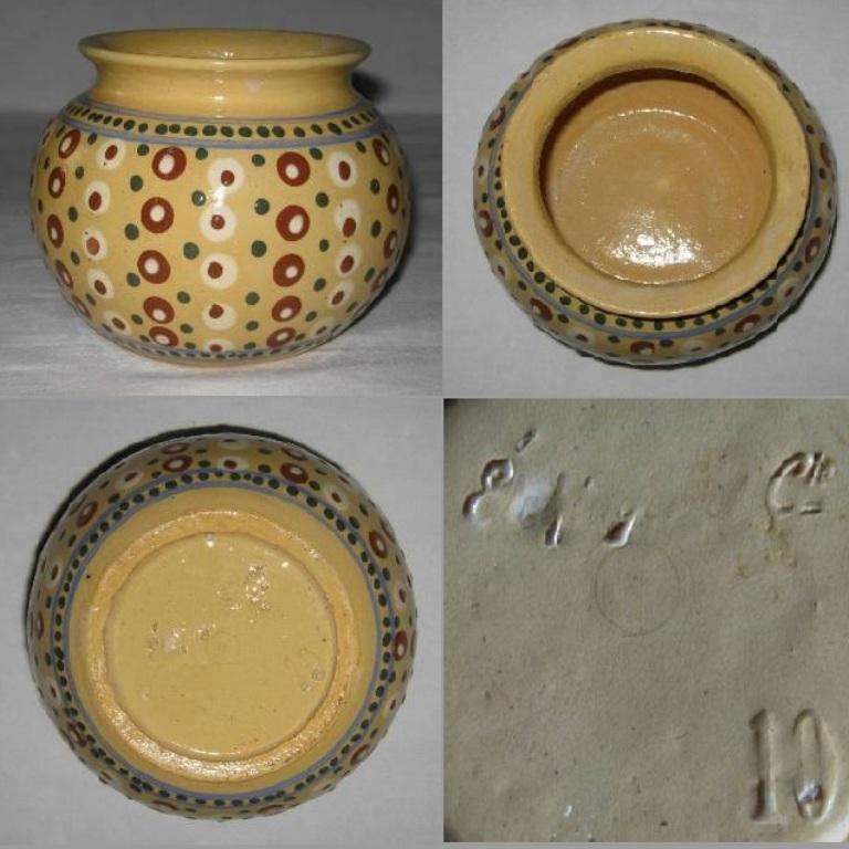 Vase boule elchinger 1b