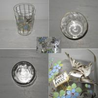 Verre emaille bonne annee 2